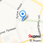 Палитра туров на карте Дзержинска