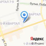 Карат-А на карте Дзержинска