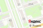Схема проезда до компании Фортуна в Дзержинске