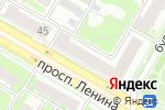 Схема проезда до компании Тепловоз Сервис в Дзержинске