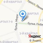 Бристоль на карте Дзержинска