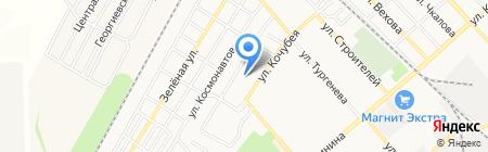 Детский сад №4 Берегея на карте Георгиевска