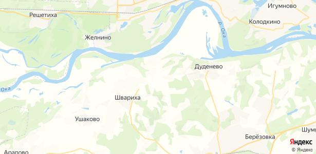 Хабарское на карте