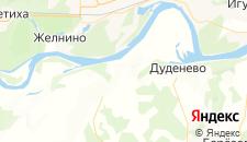 Отели города Хабарское на карте