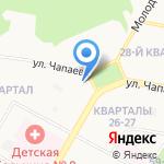Нэймиз на карте Дзержинска