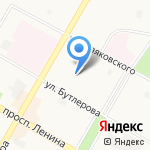 Модельное агентство Натальи Коломенцевой на карте Дзержинска