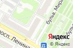 Схема проезда до компании Депутатский центр партии Единая Россия г. Дзержинска в Дзержинске