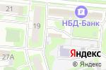Схема проезда до компании Кит в Дзержинске