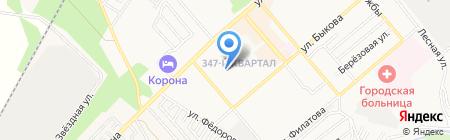 Средняя общеобразовательная школа №7 на карте Георгиевска