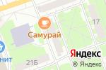 Схема проезда до компании Casparus в Дзержинске