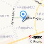 Кит на карте Дзержинска