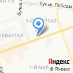 Мамуля на карте Дзержинска