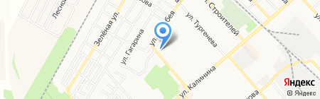 Центр правовых сделок с недвижимостью на карте Георгиевска