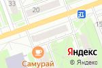Схема проезда до компании Мозаика в Дзержинске