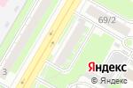 Схема проезда до компании Звездочка в Дзержинске