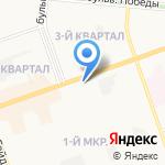 Русские деньги на карте Дзержинска