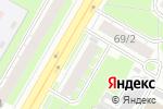 Схема проезда до компании Для Вас в Дзержинске