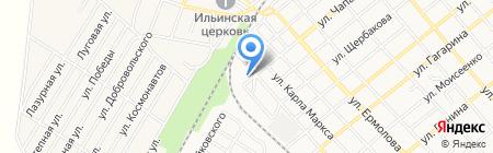 Ивушки на карте Георгиевска