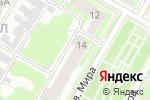 Схема проезда до компании НО НОФ в Дзержинске