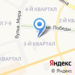 Детский сад №87 на карте Дзержинска