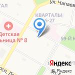 Фаворит-Авто на карте Дзержинска