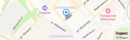 Планета Спорт на карте Георгиевска