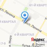 Отдел участковых уполномоченных полиции на карте Дзержинска