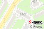 Схема проезда до компании Эконом Плюс в Дзержинске