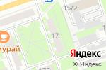 Схема проезда до компании Мегаполис в Дзержинске