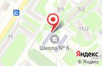 Схема проезда до компании Средняя общеобразовательная школа №6 в Георгиевске