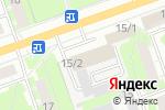 Схема проезда до компании Мир потолков в Дзержинске