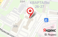 Схема проезда до компании Альянс в Дзержинске
