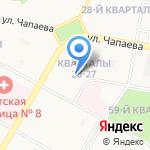 Адвокатский кабинет Маткиной С.В. на карте Дзержинска