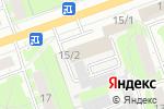 Схема проезда до компании Кинетика-Холдинг в Дзержинске