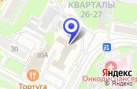 Схема проезда до компании МЕТИКС-НН в Дзержинске