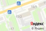 Схема проезда до компании Гласс НН в Дзержинске