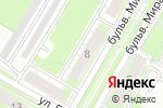 Схема проезда до компании Заря в Дзержинске