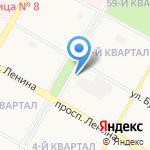Областной реабилитационный центр для детей и подростков с ограниченными возможностями г. Дзержинска на карте Дзержинска