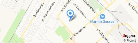 Швейный цех по производству одежды на карте Георгиевска