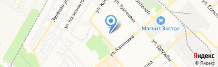Кадастровый инженер Кулакова А.И. на карте Георгиевска