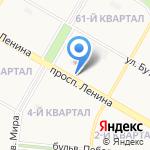 Непроспи на карте Дзержинска