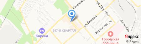 Атон на карте Георгиевска