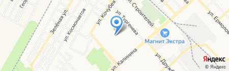 Золушка МУП на карте Георгиевска