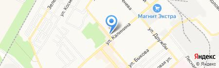 Цифроград на карте Георгиевска