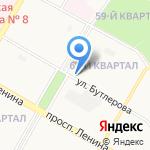 Продукты на карте Дзержинска