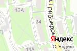 Схема проезда до компании EMEX в Дзержинске