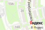 Схема проезда до компании Альтернатива в Дзержинске