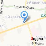 Дарлинг на карте Дзержинска