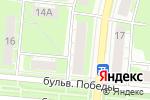 Схема проезда до компании Гильдия Зодчих в Дзержинске