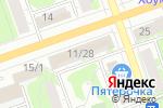 Схема проезда до компании Модница в Дзержинске